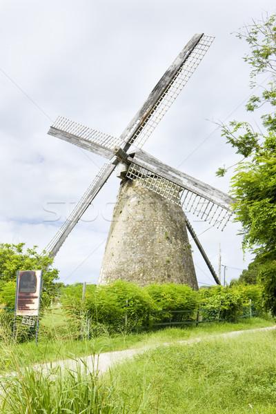 мельница Барбадос здании архитектура Windmill Открытый Сток-фото © phbcz
