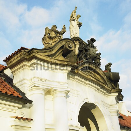 detail of the plague column in Nitra, Slovakia Stock photo © phbcz