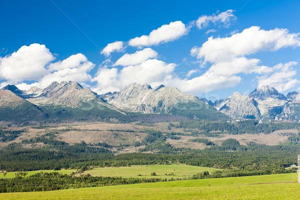 Western part of Vysoke Tatry (High Tatras), Slovakia Stock photo © phbcz