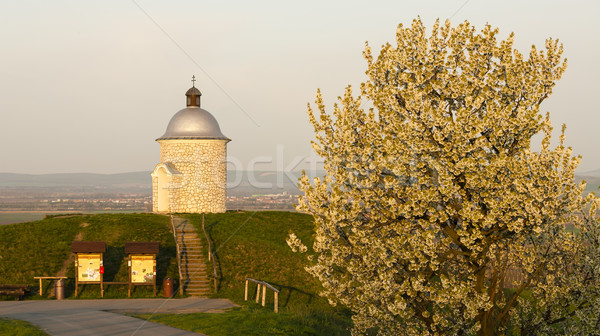 Chapelle République tchèque printemps Voyage architecture usine Photo stock © phbcz