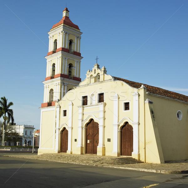 San Juan Bautista de Remedios''s Church, Parque Mart Stock photo © phbcz