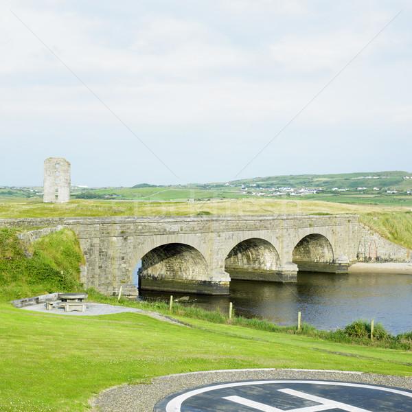 Ierland gebouw architectuur bruggen outdoor buiten Stockfoto © phbcz
