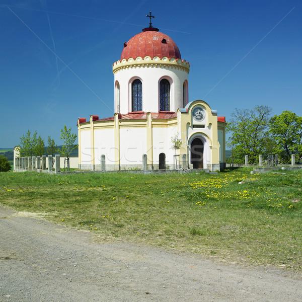 Kaplica Czechy budynku kościoła architektury zewnątrz Zdjęcia stock © phbcz