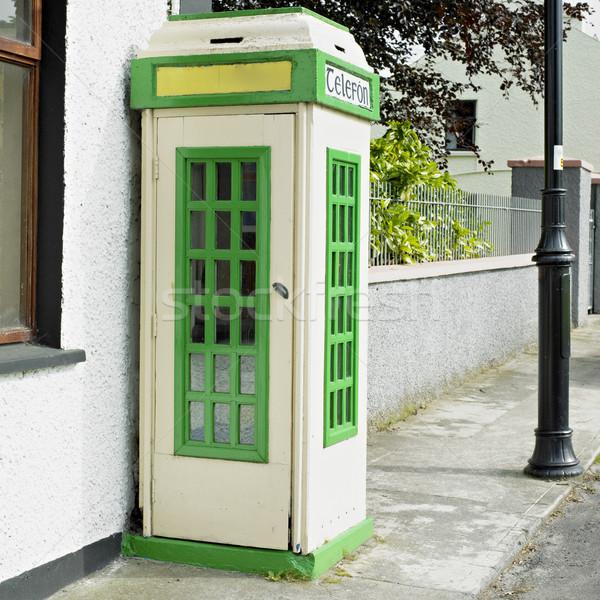 電話 ブース アイルランド 接続 電話 屋外 ストックフォト © phbcz