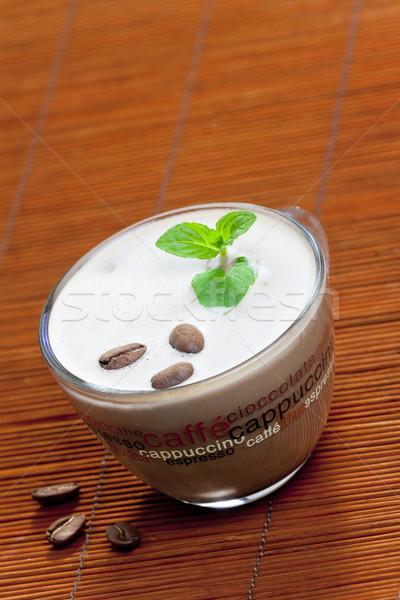 Still life cappuccino tasse café objet brun Photo stock © phbcz