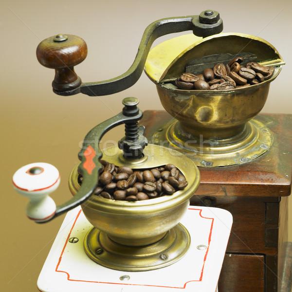 Café alimentos beber interior bebidas frescos Foto stock © phbcz