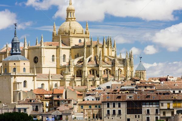 ストックフォト: スペイン · 建物 · アーキテクチャ · ゴシック · 寺 · 大聖堂