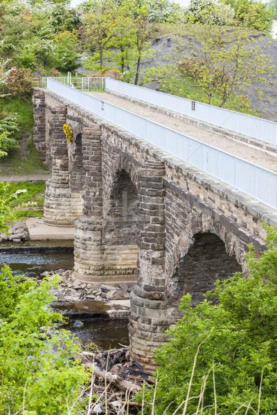Schotland brug reizen architectuur Europa buitenshuis Stockfoto © phbcz