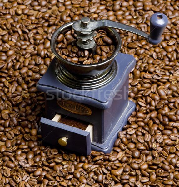 Kávé malom kávé ital italok friss Stock fotó © phbcz