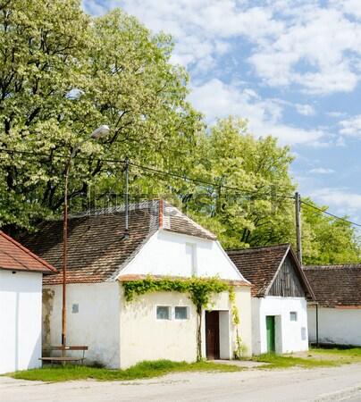 folk wine cellars, Jetzelsdorf, Lower Austria, Austria Stock photo © phbcz