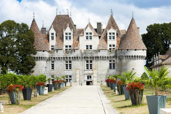 Monbazillac Castle, Aquitaine, France Stock photo © phbcz