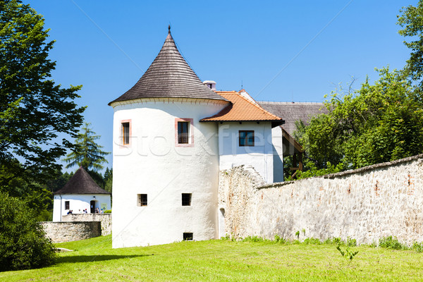 stronghold of Zumberk, Czech Republic Stock photo © phbcz