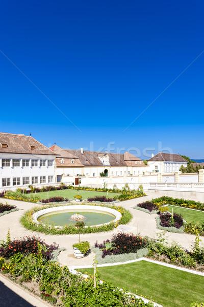 Palace Hof with garden, Lower Austria, Austria Stock photo © phbcz