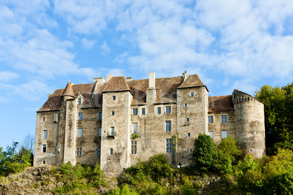 Stock photo: Boussac Castle, Creuse Department, Limousin, France