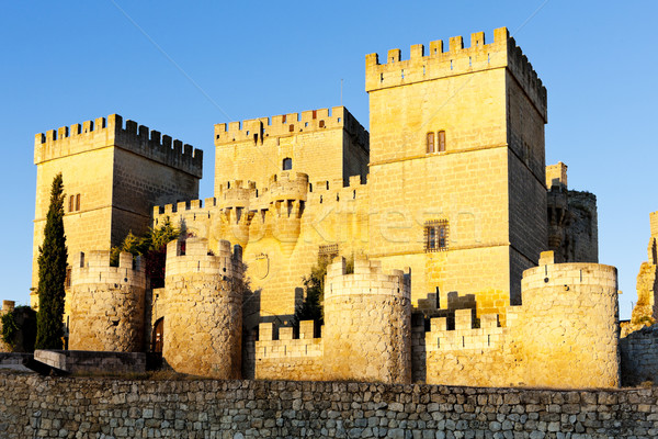 Stock photo: Castle of Ampudia, Castile and Leon, Spain