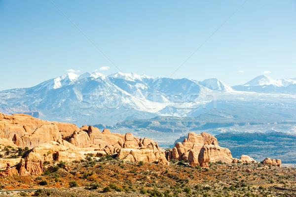 Parc la montagnes Utah USA paysage Photo stock © phbcz