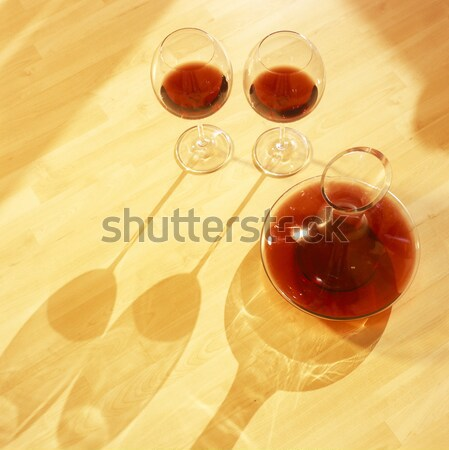 red wine still life Stock photo © phbcz