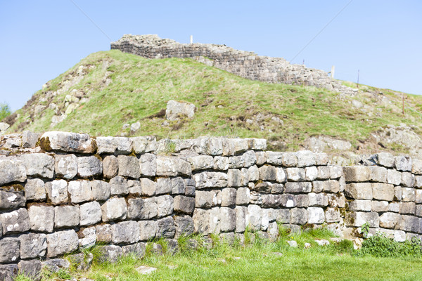 стены Англии путешествия архитектура Европа руин Сток-фото © phbcz