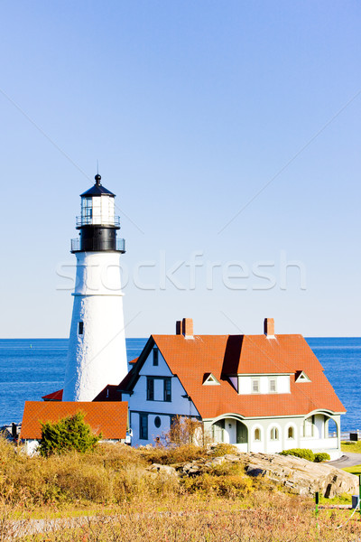 Portland Head Lighthouse, Maine, USA Stock photo © phbcz