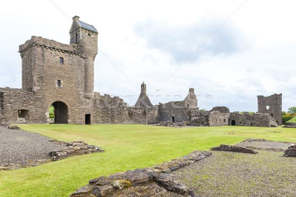 Ruínas abadia escócia edifício arquitetura europa Foto stock © phbcz