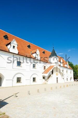 Wody młyn Czechy budynku architektury historii Zdjęcia stock © phbcz