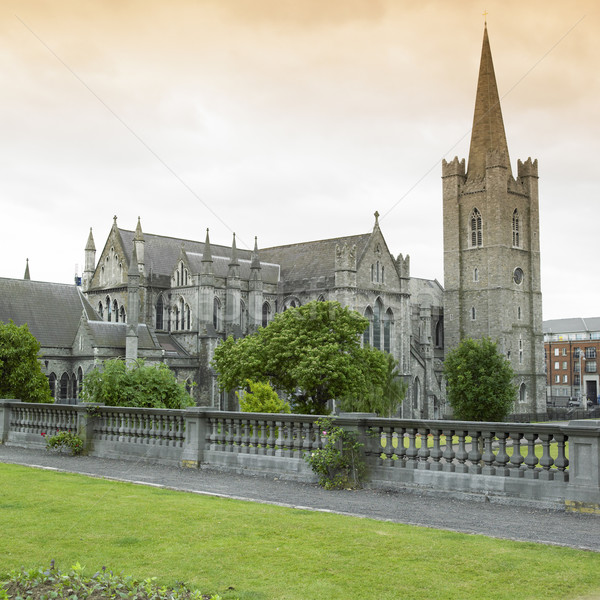Stock photo: St.Patrick''s Cathedral, Dublin, Ireland