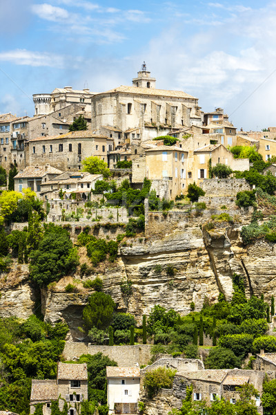 Gordes, Provence, France Stock photo © phbcz