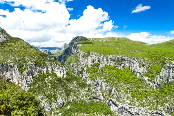 Stock photo: Verdon Gorge, Provence, France