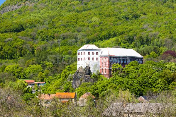 Palácio República Checa viajar castelo arquitetura europa Foto stock © phbcz
