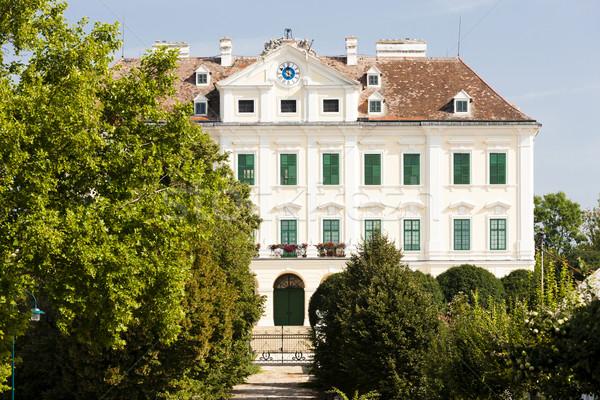 Palazzo abbassare Austria costruzione viaggio architettura Foto d'archivio © phbcz