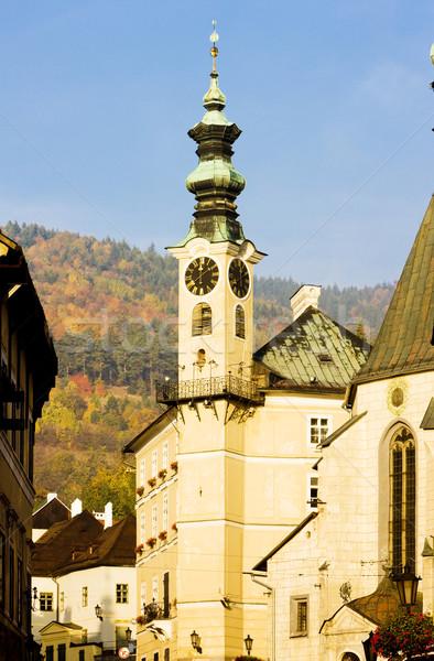 town hall, Banska Stiavnica, Slovakia Stock photo © phbcz