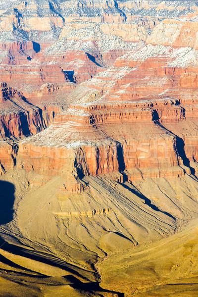 Grand Canyon park Arizona USA tájkép hó Stock fotó © phbcz