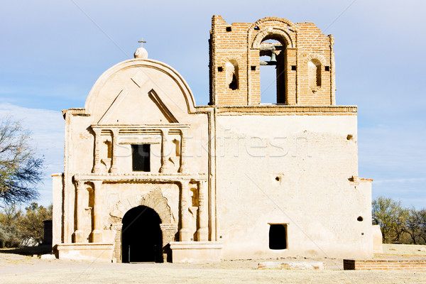 Stock photo: San Jose de Tumacacori Chruch, Arizona, USA