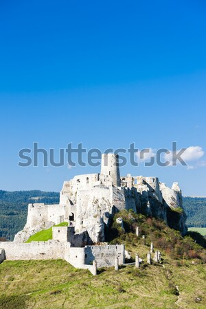 Rovine castello Slovacchia costruzione architettura storia Foto d'archivio © phbcz