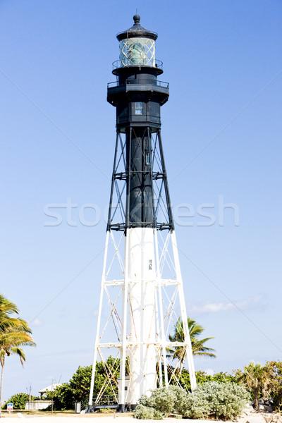 Farol praia Flórida EUA edifício segurança Foto stock © phbcz
