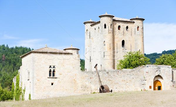 Arques Castle, Languedoc-Roussillon, France Stock photo © phbcz