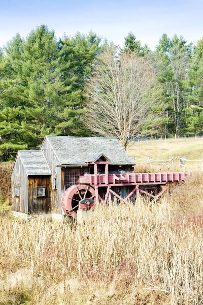Mill Vermont USA costruzione viaggio architettura Foto d'archivio © phbcz