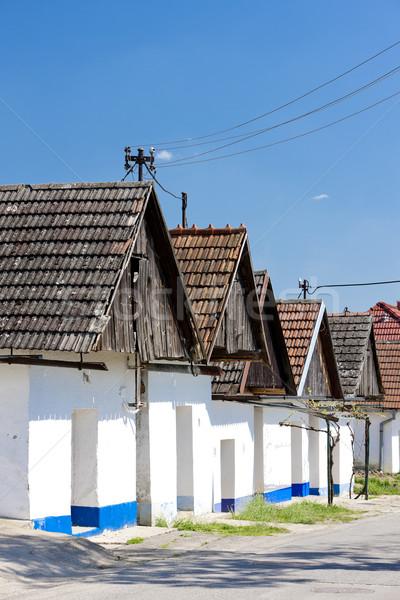 Bor hüvely Csehország épület kint Stock fotó © phbcz
