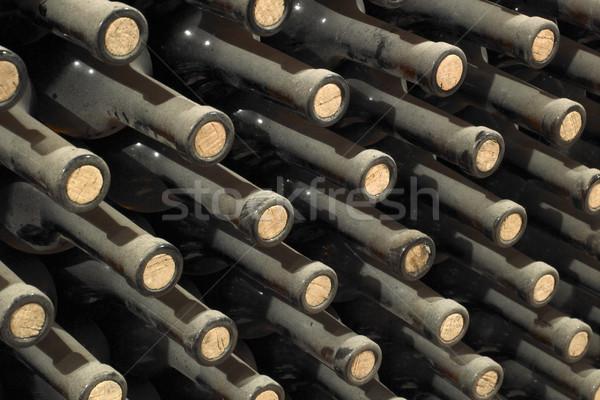 wine archive, wine cellar Sidleny, Livi Dubnany, Czech Republic Stock photo © phbcz