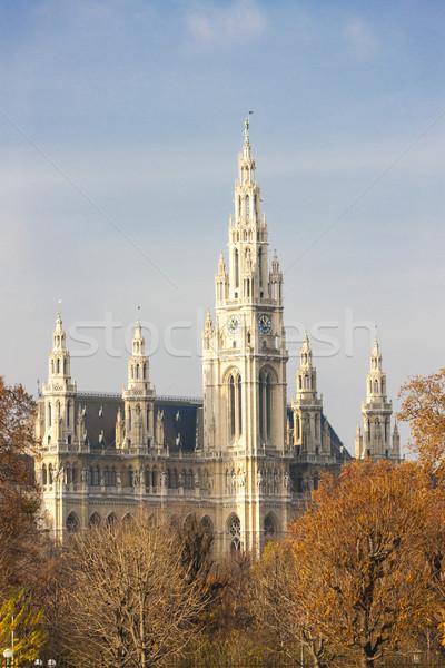 Miasta sali Wiedeń Austria budynku podróży Zdjęcia stock © phbcz