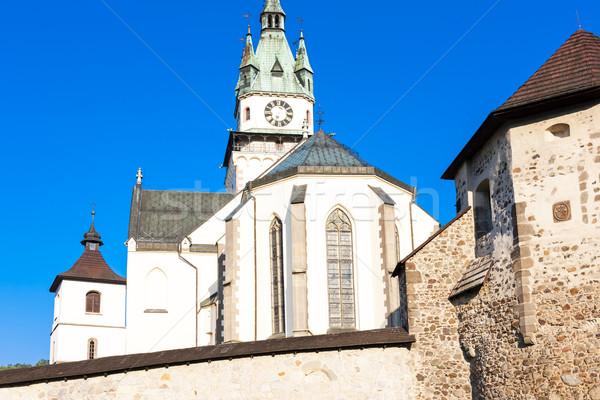 Igreja Eslováquia edifício arquitetura europa Foto stock © phbcz