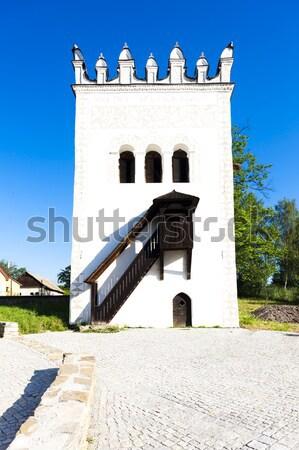 Kale Slovakya Bina mimari Avrupa tarih Stok fotoğraf © phbcz