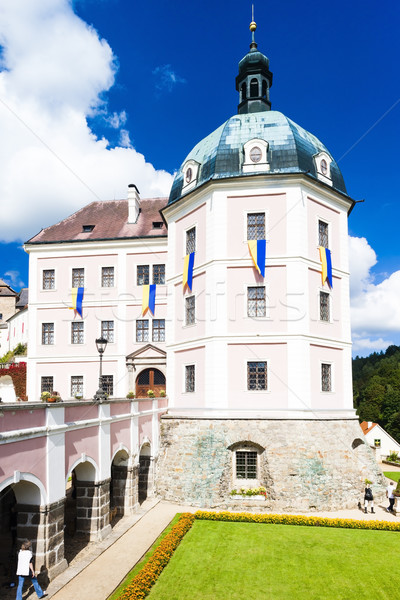 castle Becov nad Teplou, Czech Republic Stock photo © phbcz