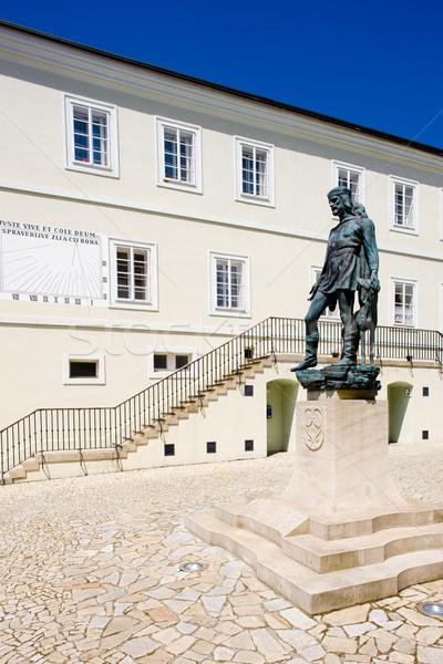 former town hall (now museum), Nove Mesto nad Metuji, Czech Repu Stock photo © phbcz