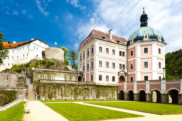castle and palace of Becov nad Teplou, Czech Republic Stock photo © phbcz