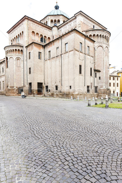 Parma Cathedral, Emilia-Romagna, Italy Stock photo © phbcz