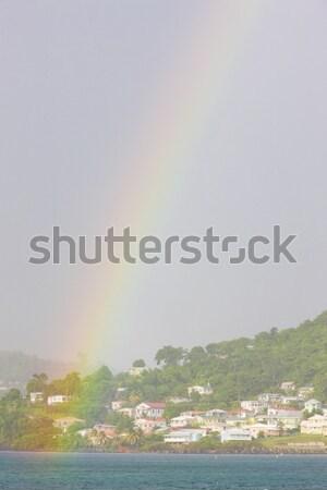 St. George's, Grand Anse Bay, Grenada Stock photo © phbcz
