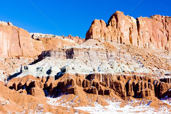 公園 冬 ユタ州 米国 風景 雪 ストックフォト © phbcz