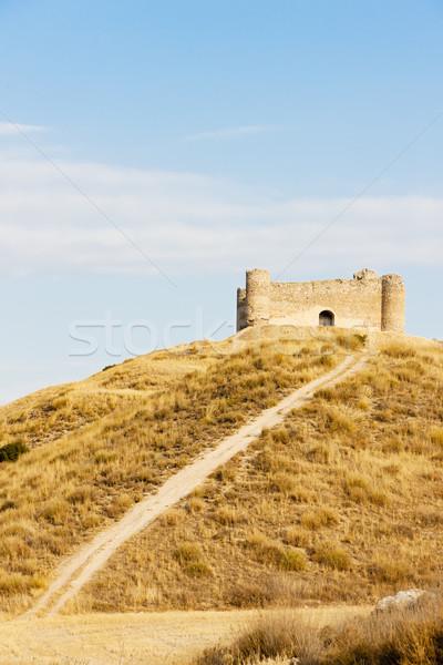 Château la Espagne Voyage architecture histoire Photo stock © phbcz