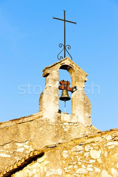 колокола башни часовня Франция здании крест Сток-фото © phbcz